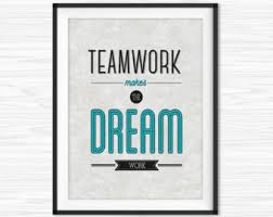 inspirational wall art for office. Office Teamwork Quotes Wall Art Printable Success Motivational Decor Inspirational Quote For A