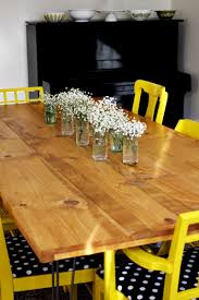 Diy Kitchen Table Elsies Diy Dining Room Table A Beautiful Mess