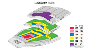 Civic Theater Seating Chart