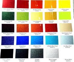 Hok Paint Color Chart Pearl Car Paint Colour Chart Www Bedowntowndaytona Com