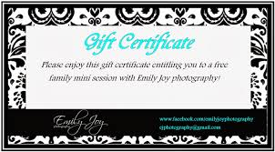 photography gift certificate template 2907285 hitori49 info