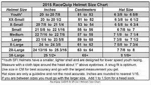 Racequip Helmet Size Chart Racequip Crew Helmet