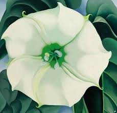 georgia o keeffe painting sets auction record for female artist bbc news