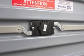 flush lock with keys on manual door