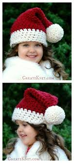 Crochet Santa Hat Pattern Cool Ideas