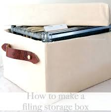 Hanging File Storage Box Decorative File Storage Boxes Decorative Decorative Storage Box Hanging File 39
