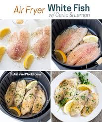 low carb air fryer white fish recipe