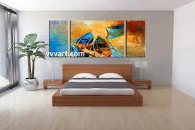 3 piece wall art for bedroom