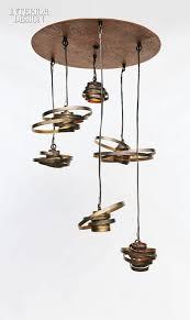 eclectic lighting fixtures. Saturn Cluster Chandelier In Steel By Bodner Chandeliers. Eclectic Lighting Fixtures
