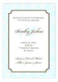 Baby Boy Announcement Card Stock Illustration Quotes