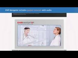 Ehr Navigator Overview Electronic Health Records For Nursing