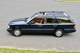 1995 Mercedes Benz E320 Wagon in Midnight Blue with Tan Interior ...