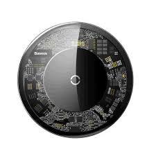 Беспроводное <b>зарядное устройство Baseus</b> Simple с разъёмом ...
