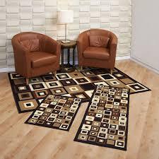 com achim home furnishings capri 3 piece rug set fresh quality rugs home furnishings