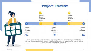 Free Project Timeline Template Project Timeline Free Powerpoint Template
