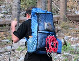 since my son opted not to use the sternum strap his pack weighs just 5 95 ounces not bad for a good size pack worthy of a thru hike