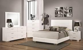 Bella White Modern Bedroom Sets