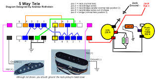 telecaster 5 way switch wiring diagram schematics and wiring mod garage the bill lawrence 5 way telecaster circuit premier
