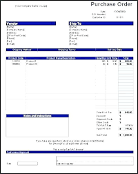 Free Purchase Order Template Excel Sheet Documents Free Purchase Order Form Template Excel