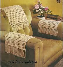 chair arm covers and chair arms covers knitting pattern instant by on diy armchair covers