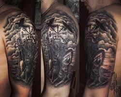 татуировки богатырей русских фото