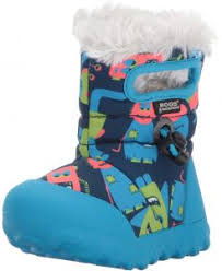 Bogs Size Chart Toddler Bogs Baby Bmoc Monsters Snow Boot Dark Blue Multi 4 M Us Toddler