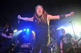 Skid row singer Johnny Solinger dies aged 55 after suffering liver failure  - Flipboard