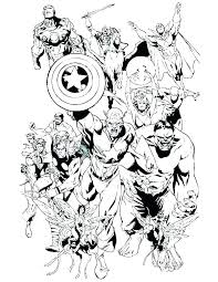 Avengers Coloring Page Avengers Coloring Pages Download Page Best