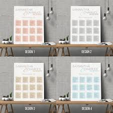 Modern Wedding Seating Chart Personalised Modern Wedding Seating Plan Planner Table Plans Chart A1 A2 A3 Ebay
