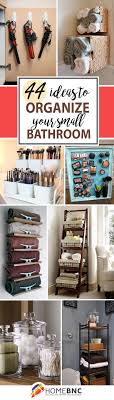 magnets baskets and rods 44 creative ways to organize your bathroom