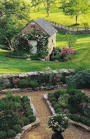 Gravel Garden Design Stunning Lovely English Country Garden Garden Beds Are Bordered With