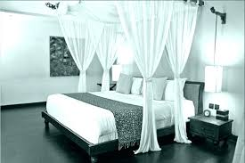 Wood Canopy Bed King King Size Metal Canopy Bed Frame Black King ...