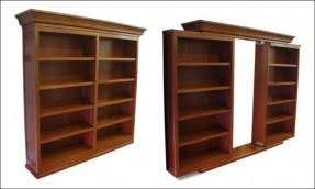 Bookcase sliding doors 1