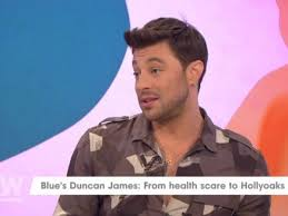 Born duncan matthew james inglis on 7th april, 1978. Blue S Duncan James Reveals Shocking Surgery Scar As He Opens Up About Being Nearly Paralysed Mirror Online