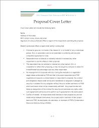 Project Proposal Cover Letter Sample Proposalsampleletter Com