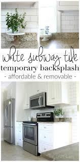 Kitchen Backsplash Wallpaper Best 25 Removable Backsplash Ideas On Pinterest Easy Backsplash