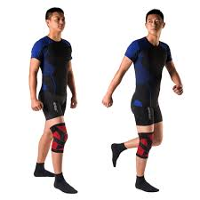 <b>Kuangmi</b> Compression <b>Knee Sleeve</b> Support <b>Sports</b> Silicone Knee ...