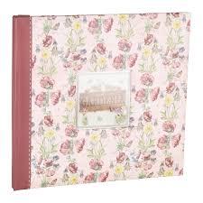First Edition Gardenia Floral Scrapbook Album