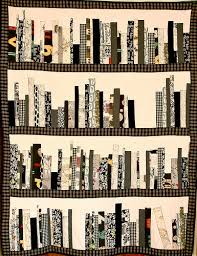 the book quilt...wonderful!   Everything I Love   Pinterest   Book ... & the bookshelf quilt, combining books and sewing, how wonderful! Adamdwight.com