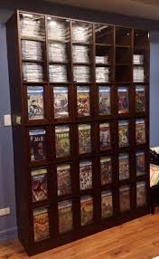 This is a full view of my custom CGC comic storage/ display cabinet. Can