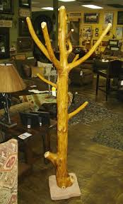 Rustic Coat Rack Tree Bradley's Furniture Etc Rustic Coat Racks 2