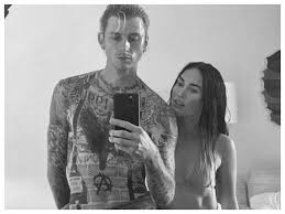 Machine gun kelly and megan fox. Megan Fox And Machine Gun Kelly Spark Off Engagement Rumours After Actress Gets Spotted With Huge Diamond Ring English Movie News Times Of India