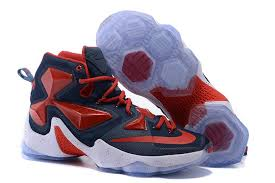 nike basketball shoes 2016. genuine mens nike lebron 13 blue red white basketball shoes 2016 k