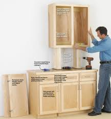 make cabinets the easy way wood plywood thickness for garage porch sail shade chi doors