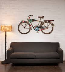industrial bike wall art sculpture  on metal bike wall art with industrial bike wall art sculpture dolan geiman