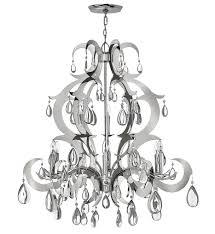 fredrick ramond fr43358pss xanadu polished stainless steel chandelier undefined