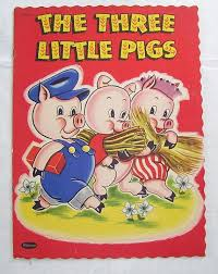 three little pigs whitman publishing copyright 1951
