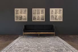 the vespasian rug from irwin s mosaic collection the rugs are hand knotted and available