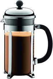 Bodum's chambord® is the original french coffee press, first designed in the 1930s and inspired by the domed towers of chambord castle. Amazon Com Bodum 1928 16us4 Chambord French Press Coffee Maker 1 Liter 34 Ounce Chrome Kitchen Dining