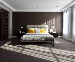 dark bedroom wall ideas from metricon brown timber wall in master bedroom